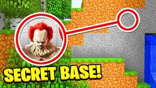 Download WE FOUND PENNYWISE'S SCARY **SECRET** BASE!(Ps3/Xbox360/PS4/XboxOne/PE/MCPE) Video