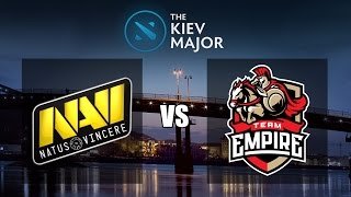 Download NAVI VS EMPIRE GAME 3 | BO3 | THE KIEV MAJOR QUALIFICATION | EMPIRE VS NAVI LIVE Video