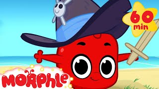 Download Morphle And Pirates! (+1 hour funny Morphle kids videos compilation) Video