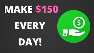 Download HOW TO MAKE $150 A DAY WITH JUST ONE APP! {EASY} Video