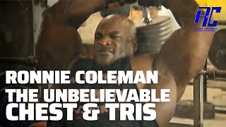 Download Ronnie Coleman The Unbelievable DVD in 1080 HD | Part 5 Chest & Tris Video