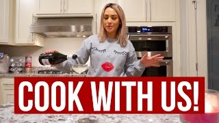 Download COOK THANKSGIVING WITH ME + MAKEUP UNBOXNGS! Video