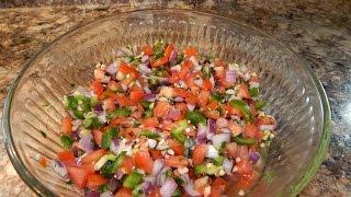 Download Authentic Pico De Gallo Recipe   Fresh Tomato Salsa Recipe   Salsa Mexicana Video
