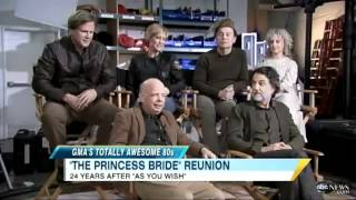 Download A Princess Bride reunion on Good Morning America from 2011 Video