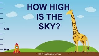 Download How High Is The Sky? Video