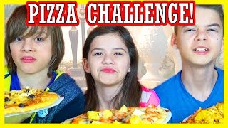 Download THE PIZZA CHALLENGE! | DISGUSTING INGREDIENTS! | KITTIESMAMA Video