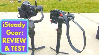 Download Cheapest 3-Axis Gimbal for DSLRs: iSteady Gear. Review and Comparison to the DJI Ronin S Video