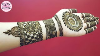 Arabic Mehndi Design Latest 2018 New Stylish Eid Special Arabic
