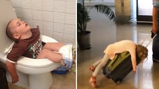 Download 30 Times Kids Fell Asleep in the Funniest Places Video