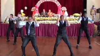 Download Surprise Indian Wedding Anniversary dance with white guy Video