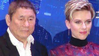Download Ghost in the Shell Japan Premier/ Scarlett Johansson, Takeshi Kitano, Juliette Binoche, Pilou Asbæk Video