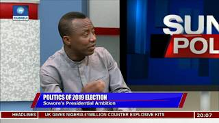 Download I Am More Qualified To Run Nigeria Than Current Leaders - Omoyele Sowore  Politics Today  Video