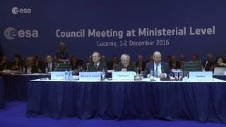 Download ESA Ministerial Council 2016: Into Space 4.0 Video