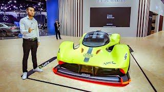 Download Siêu phẩm Aston Martin AMR Valkyrie động cơ 1000 mã lực hút khi tự nhiên khủng nhất thế giới | XEHAY Video
