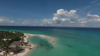 Download Kota beach aerial footage - Bantayan, Philippines Video