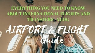 Download INTERNATIONAL FLIGHT GUIDE - AFRAID OF FLYING? FIRST TIME AT A BUSY AIRPORT?! WATCH THIS VIDEO! Video