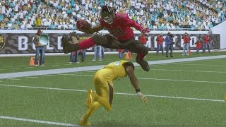 Download Madden 17 Career Mode RB S4 Ep 73 - INCREDIBLE HURDLE TOUCHDOWN RUNS! Video