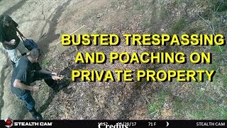 Download TRESPASSERS BUSTED!! CAUGHT ON CAMERA..What I had to say to them. A little chicken talk too! Video