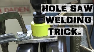 Download Dirty Trick with Holesaws | MIG Welding Fun! Video
