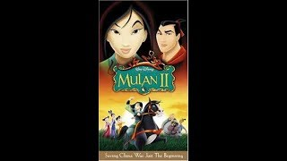 Download Opening to Mulan II 2005 Spanish VHS [Disney] Video