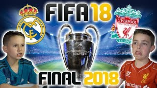 Download CHAMPIONS LEAGUE FINAL 2018 | REAL MADRID VS LIVERPOOL | FIFA 18 SCORE PREDICTOR! Video