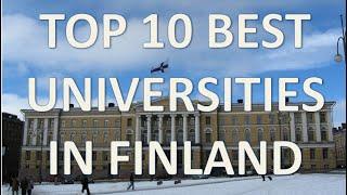 Download Top 10 Best Universities In Finland/Top 10 Universidades De Finlandia Video