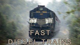 Download Fast Diesel Trains | Indian Railways Video