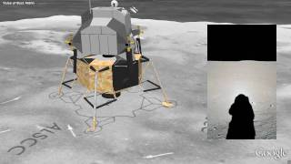 Download Moon in Google Earth - Apollo 11 Landing Video