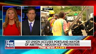 Download ICE Union Official: Antifa Was Part of 'Violent' Portland Protest, Threatened Employees Video