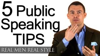 Download 5 Tips To Improve Your Public Speaking - How To Speak Professionally - Speech Speaker Tips Video