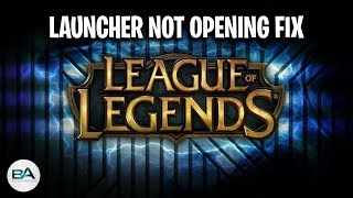 Download How to fix the League of Legends Launcher not opening! Video