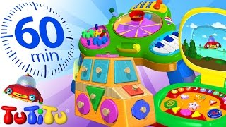Download TuTiTu Specials   Best Educational Toys for Toddlers   Including Shapes Puzzle, Bead Maze and More! Video
