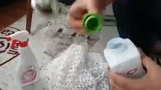 Download Sararmiş dantellerimizdeki zor lekeleri nasıl çıkarırız. Dantel, sandık lekesi çıkarma. Video