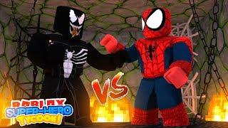 Download ROBLOX Adventure - SPIDER -MAN HOMECOMING vs VENOM!! Video