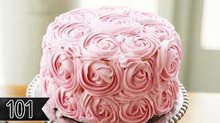 Download Five Beautiful Ways To Decorate Cake Video