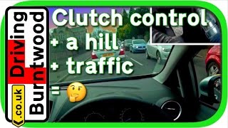 Download Clutch control in traffic & uphill in manual car - clutch cam and POV driving lesson 🛣🚗💨🚦 Video