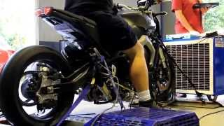 Download Yamaha MT09 turbo built by Extreme Creations on dyno Video
