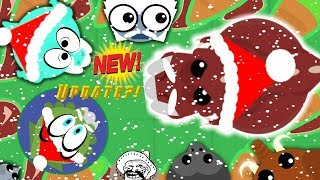 Download Mope.io NEW CHRISTMAS UPDATE??!! Santa T-rex//Trolling funny moments! Video