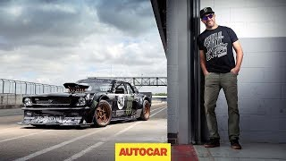 Download How to drift*, by Ken Block – shredding tyres in the 845bhp Hoonicorn Mustang Video