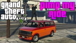 Download GTA 5 - Pimp My Ride #143 | Declasee Moonbeam (GMC Safari) | Lowrider Customization Video