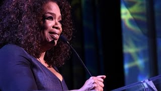 Download Oprah's Tearful Speech at Power of Women Video