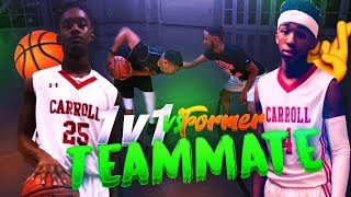 Download 1v1 vs FORMER TEAMMATE 🏀🤞🏽(HE TOOK MY SPOT IN HIGH SCHOOL) GETTING MY REVENGE!!! Video
