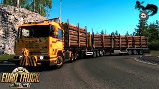 ETS2 1 28 - Rusmap 1 7 4 - Scania R - Valday to Velildye Luki Free