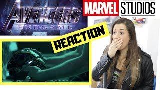 Download Avengers 4 EndGame - Official Trailer REACTION Video