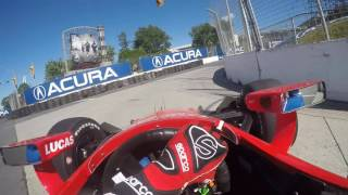 Download 2016 INDYCAR Visor Cam with Mikhail Aleshin at the Honda Indy Toronto Video