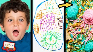 Download Can These Chefs Turn This Sea Monster Drawing Into Sweet Desserts? •Tasty Video