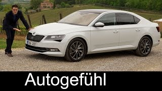 Download All-new Skoda Superb L&K 2.0 TSI 2016 FULL REVIEW test driven + trim levels & colours Video