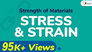 Download Stress and Strain - Problem 1 - Stress and Strain - Strength of Materials Video