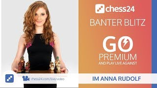 Download Banter Blitz Chess with IM Anna Rudolf (Miss Strategy) – April 17, 2018 Video