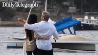 Download Mel Gibson and Rosalind Ross Kissing Redleaf Sydney Video